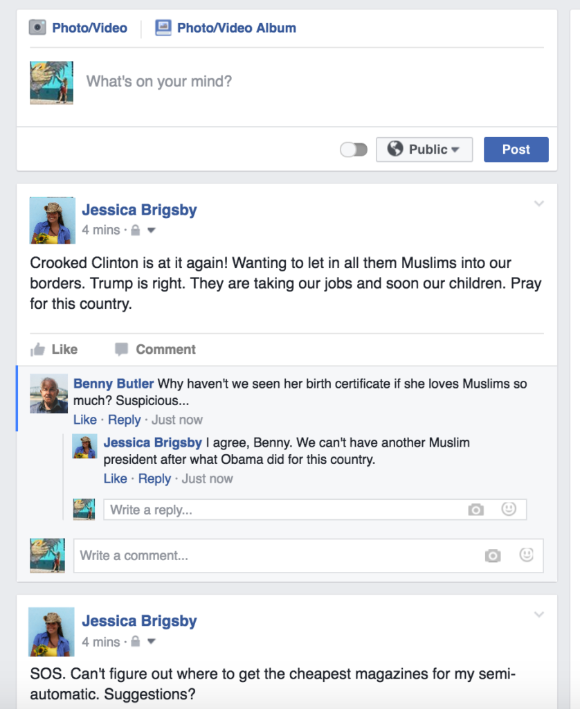 Facebook's new timeline was created to showcase offensive posts.