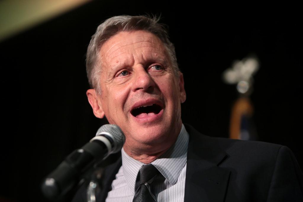 gary johnson announces running for president in 2018