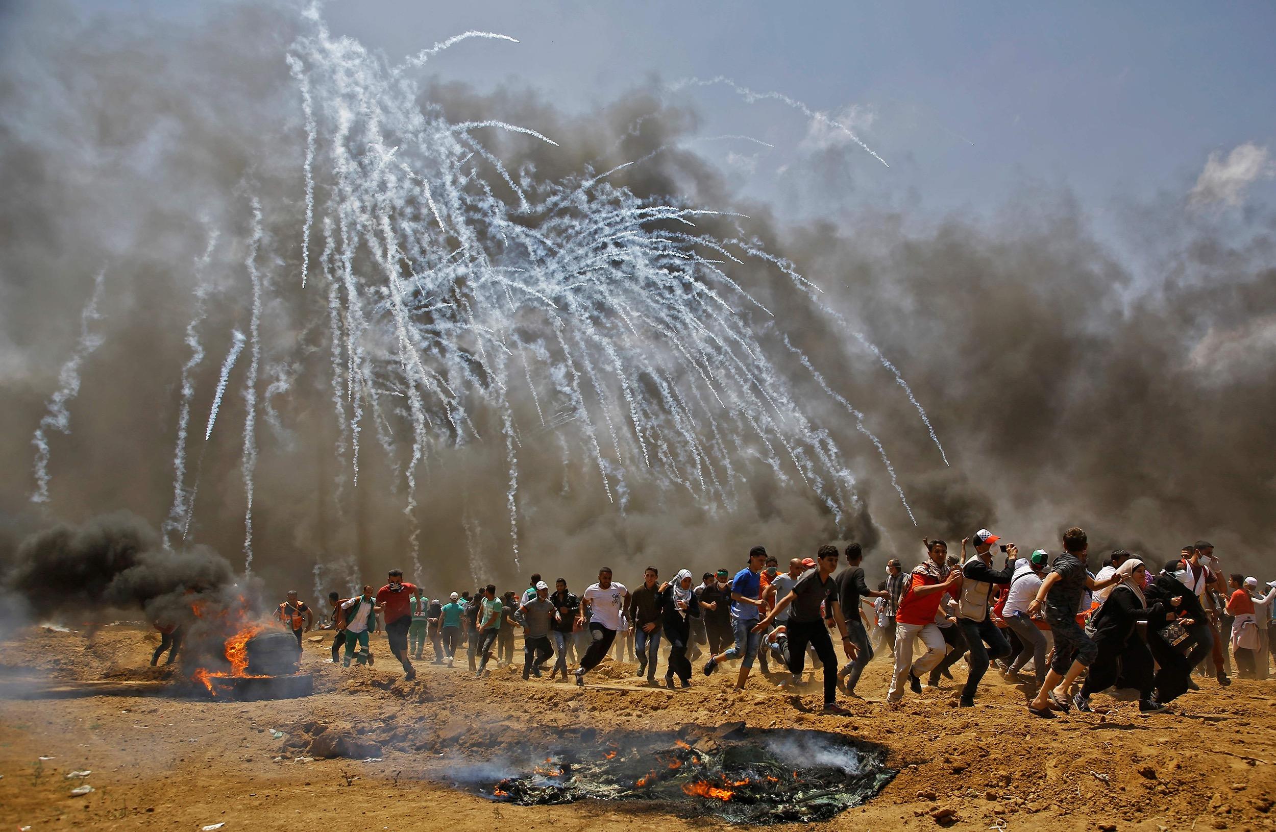 Image: PALESTINIAN-ISRAEL-US-CONFLICT-GAZA